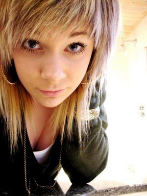 Emo Girl Hairstyles Collection Emo Scene Girl. With Brown Hair. Scene Girl.