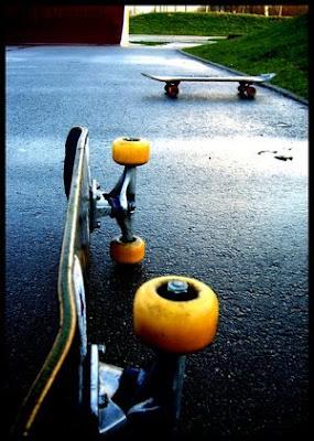 Skateboard humano [stop motion]