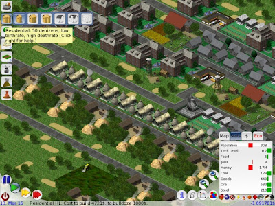 Simulatore città