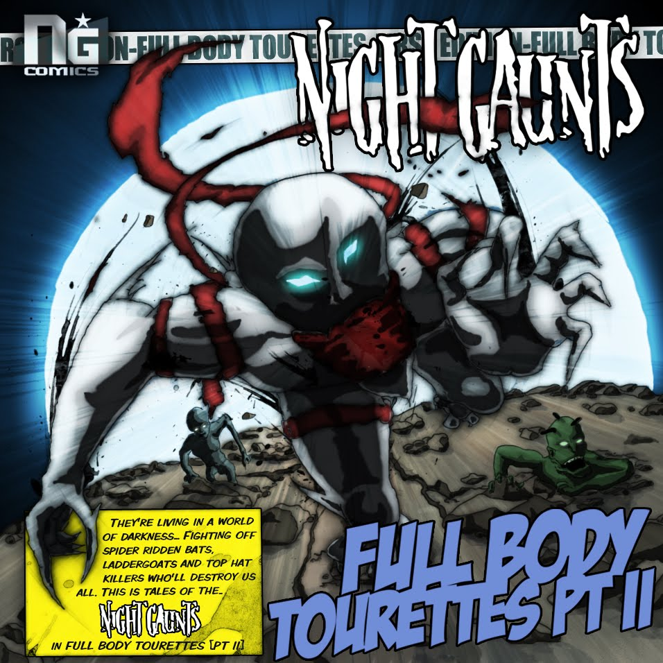 Night Gaunts - Full Body Tourettes ptII