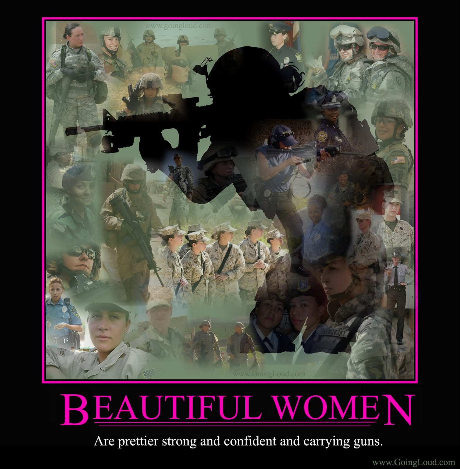 Bang Clear have ...U.s. Army Women Quotes