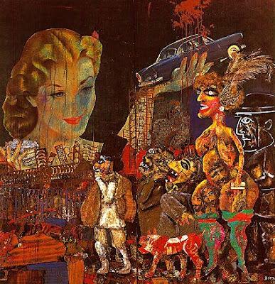 Antonio Berni - La gran tentación Imagen+683