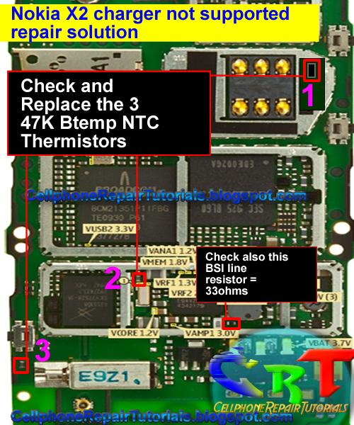 nokia x2 charger not supported repair instruction procedure free rh cellphonerepairtutorials blogspot com Nokia X2 Software Tema Nokia X2