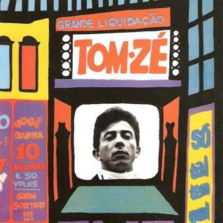 Capa Tom Zé