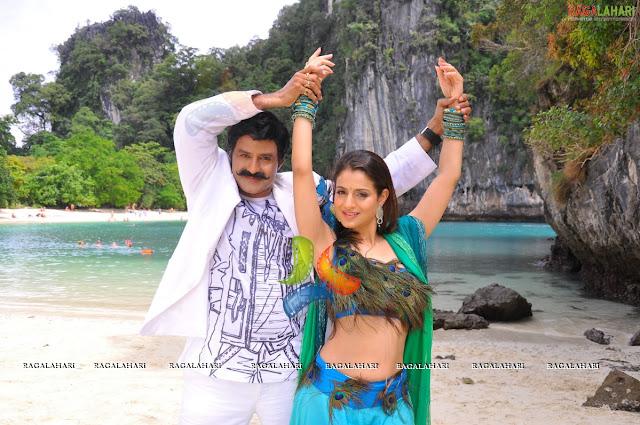 Amisha Hot In Telugu Movie Paramaveerachakra