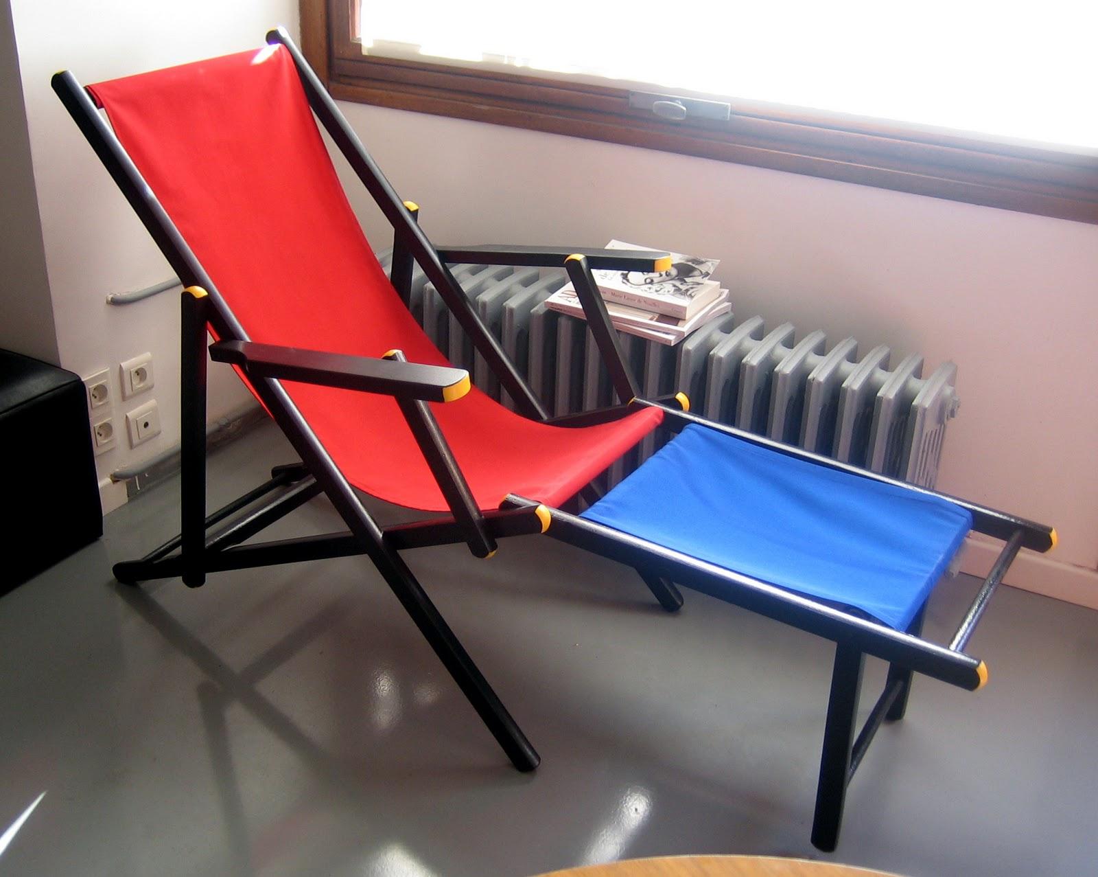 Les enfants de dada la chaise gerrit - La chaise rouge et bleue ...