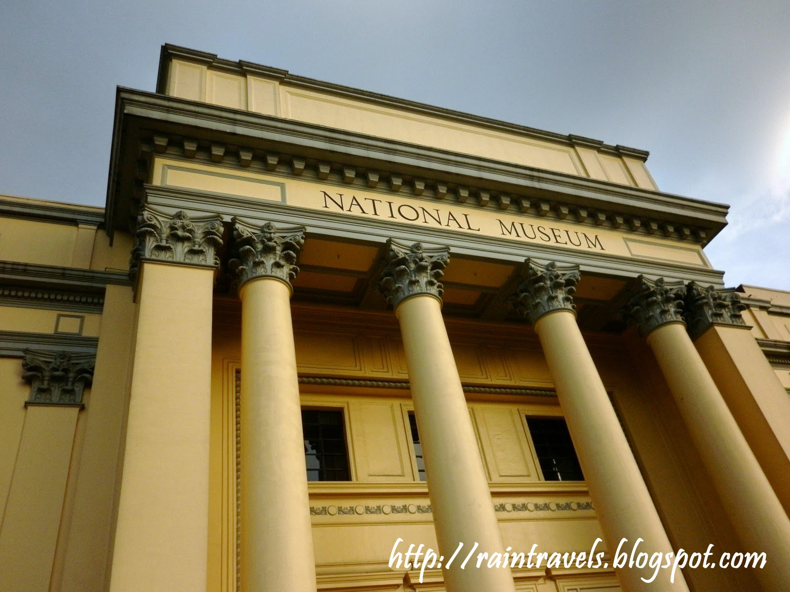 reaction paper on national museum philippines The term paper on philippine national railway  and drainage systems 9 advantages and disadvantages of pnr the philippines traveling land trains across the national art gallery building is the museum of the filipino people it houses the anthropology and archaeology division.