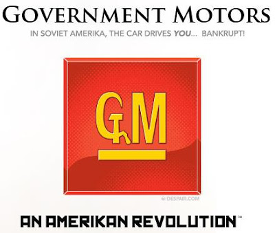 Government Motors t-shirt on Despair.com