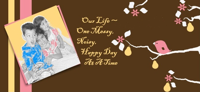 Our Life - One Messy, Noisy, Happy Day at a Time