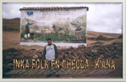 Lic. Edgar Mosqueira en Checca - K'anas - Qosqo