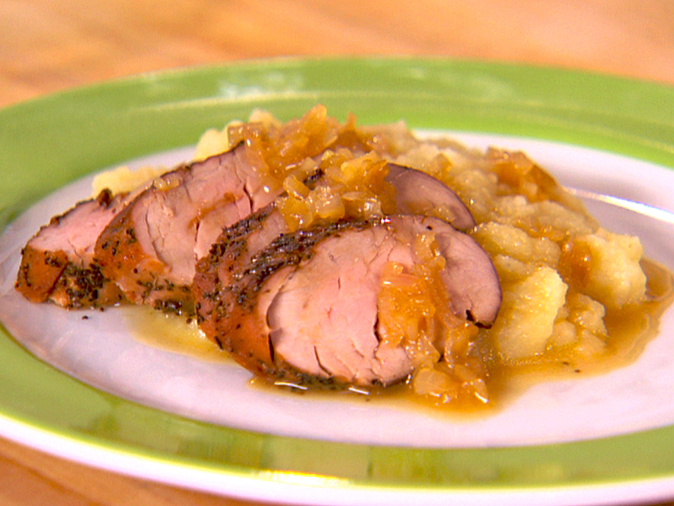 Cooking with Chip: Apple Butter Roasted Pork Loin
