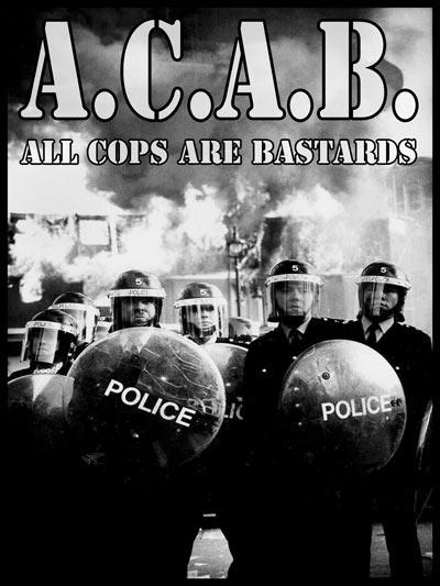 A.C.A.B (All Cops are bastards) affiche