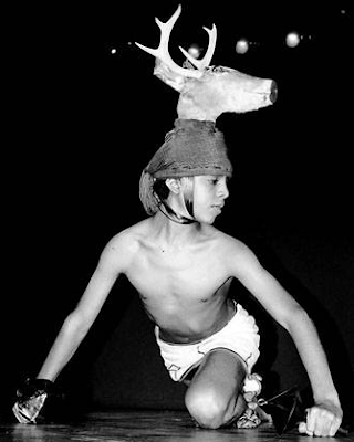 El Yaquí ve la danza del venado. Cuando se adentra en los valles
