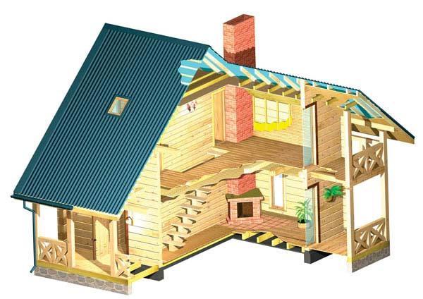 Maria jose pulido - Casas estructura de madera ...