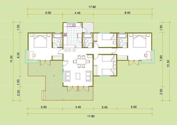Kol kol kol blog planos de casas de madera - Planos casas de madera ...