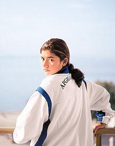 Robina Muqimyar of Afghanistan
