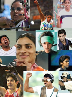 Beijing Olympics : Indian Squad