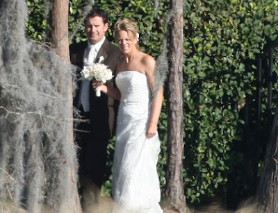 Annika Sorenstam Ties Knot with Mike McGee