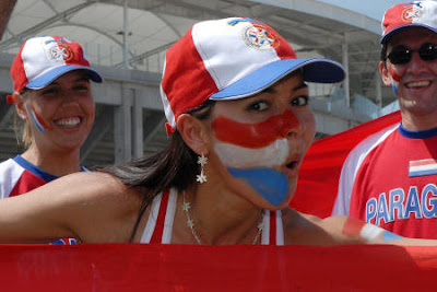 Paraguay female football fans