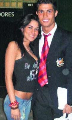 Cristiano Ronaldo and Eliza Samudio