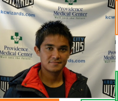 Sunil Chhetri for Kansas City Wizards