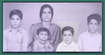 Childhood Photograph of Wasim Akram
