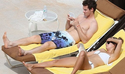 Andy Murray Holidaying with Kim Sears