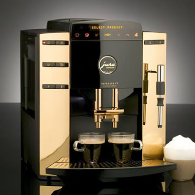 Extraordinary Gold-plated Coffee Machine