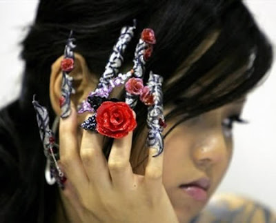 Something amazing! Chinese Nail  Art Designs