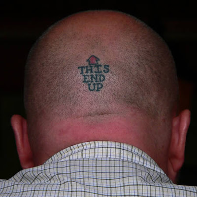 funniest tattoos. Funniest Scalp Tattoos 15 pics