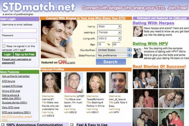 Dating website funny