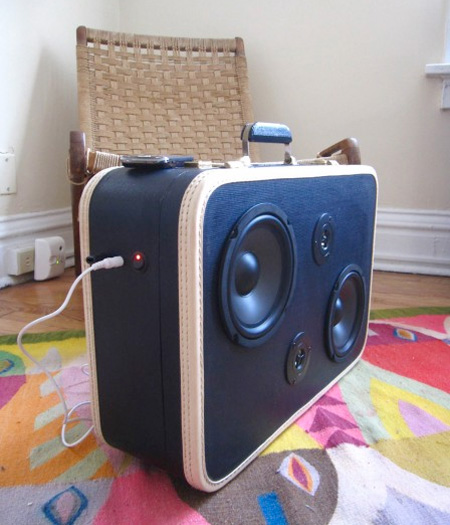 Something Amazing Awesome Suitcase Speakers