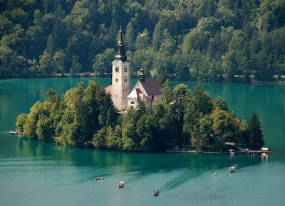 A Beautiful bled island in Slovenia Seen On  www.coolpicturegallery.us