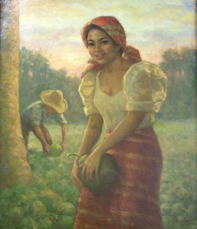 artworks of fernando amorsolo. painter Fernando Amorsolo