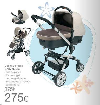 Con el bebe a cuestas cat logo rebajas carrefour premama - Carros gemelares carrefour ...