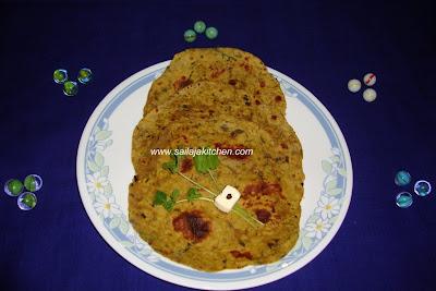 images for Brinjal Paratha / Eggplant Paratha Recipe / Baingan Paratha