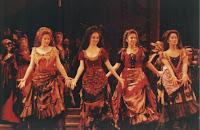 La Traviatta as one of the dancers