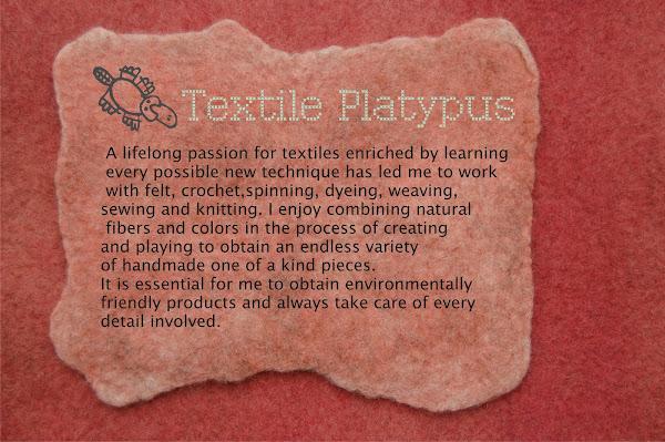 Textile Platypus