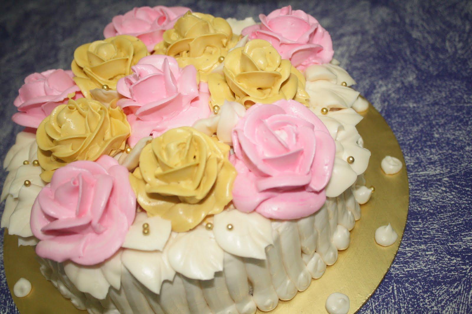 Lissa n Rayyan ~ My Little Cupcakes * MA0150807-H: 2 Tier Wedding Cakes
