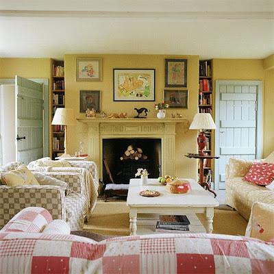 Salotti country - cottagestyleblogs