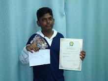Pelajar Terbaik UPSR 2008 - Alvin Raj