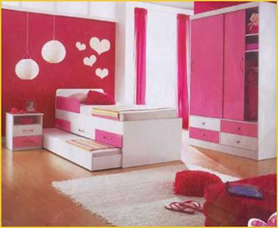 decoração de quarto para jovem feminino