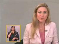 Intérprete na televisão