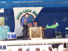 Green Earth Magic Show in the wind