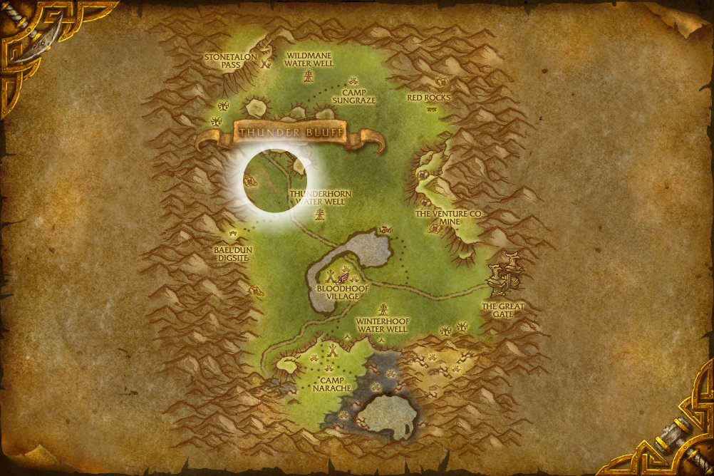 Darkmoon Island Map
