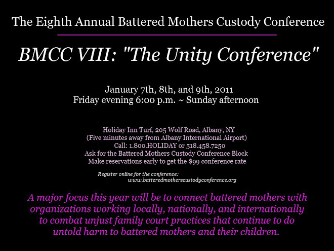 Focus of January 2011 BMCC VIII will be to connect mothers