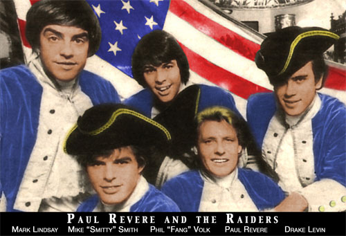 PAUL REVERE AND THE RAIDERS (THE ORIGINAL GROUP MEMBERS)