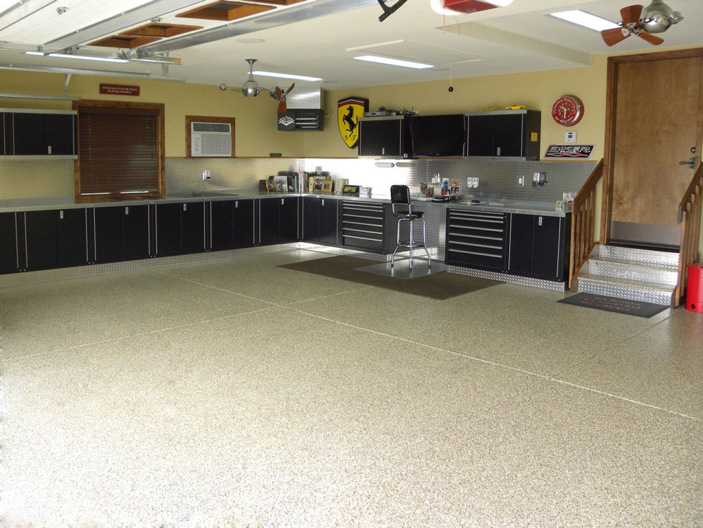 Epoxy garage floor epoxy garage floor cost per square foot Garage square foot cost