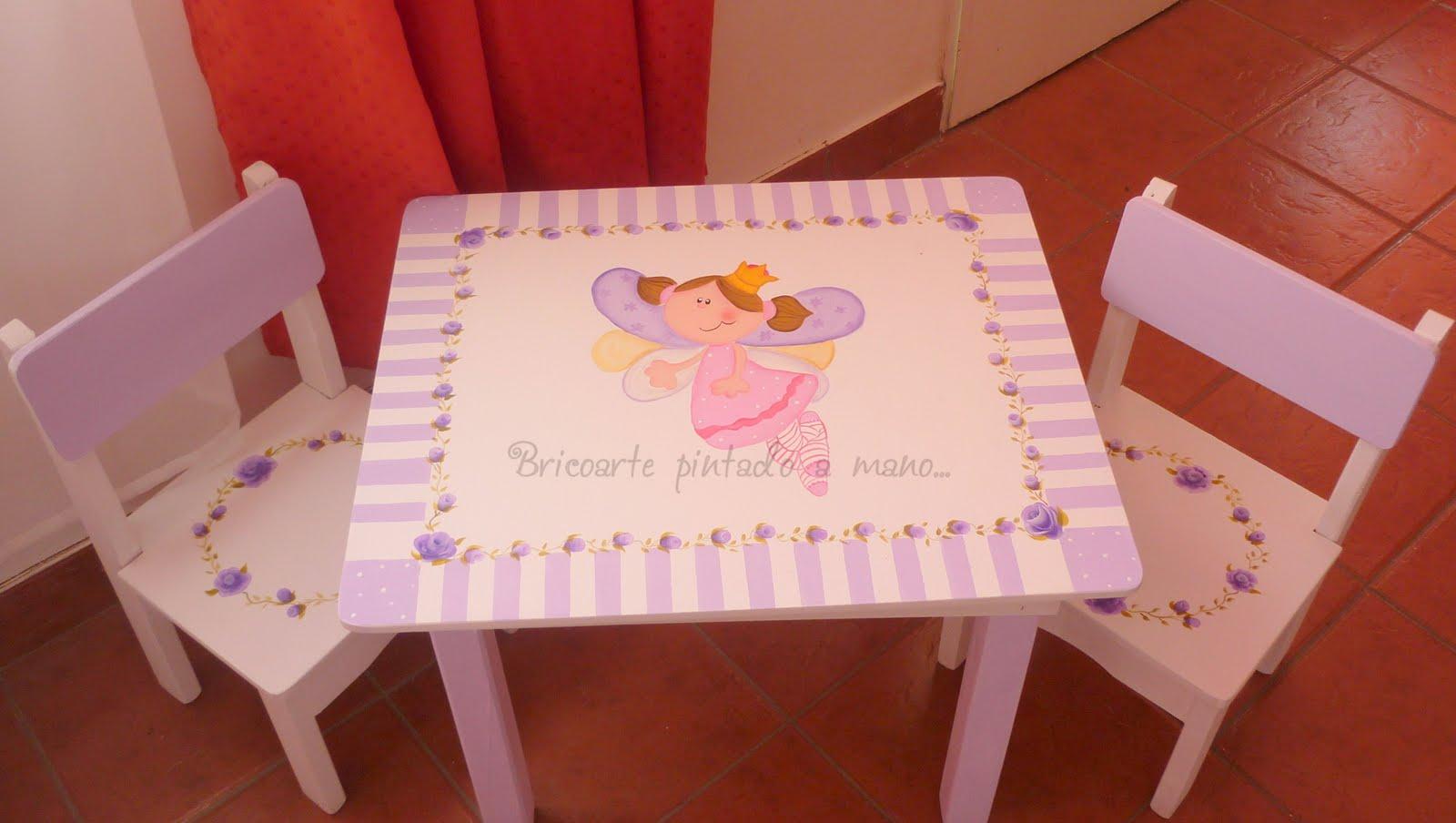 Mesas de madera infantiles affordable estos juegos de - Mesas infantiles madera ...