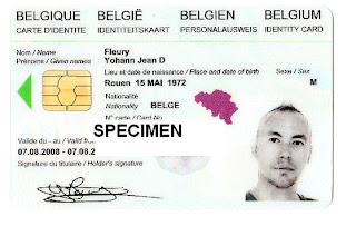 Carte Belgique Hd.Un Normand Vert A Ixelles J Ai Enfin Recu Ma Carte D Identite Belge